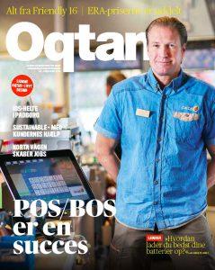 December 2016: Personaltidningen Oqtan kommer ut med ny form (Pär Ljung). På danska och svenska.
