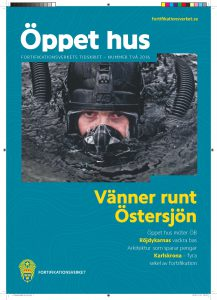 November 2016: Fortifikationsverkets tidning Öppet hus kommer ut.